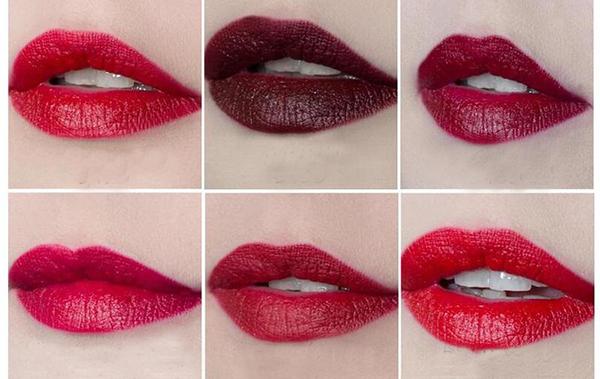 Nella tendenza trucco autunno inverno non può mancare il rossetto rosso in tutte le sue tonalità!!!